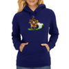 Lion Player Womens Hoodie