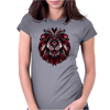 Lion spirit trival Womens Fitted T-Shirt