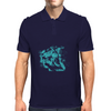 Lion (Turquoise) Mens Polo