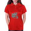 Lion (Turquoise) Womens Polo