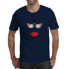 lips and glasses Mens T-Shirt