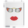 lips and glasses Tablet (vertical)