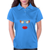lips and glasses Womens Polo