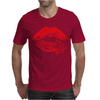 Lips Crop Mens T-Shirt