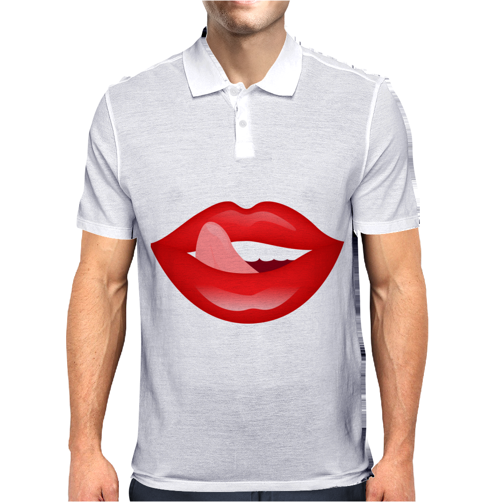 lips Mens Polo