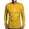 Liqid Ink Yellow Mens Long Sleeve T-Shirt