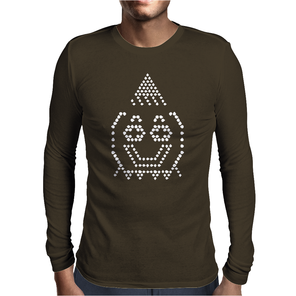 Lite Brite Retro Mens Long Sleeve T-Shirt