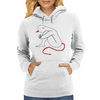 Little Devil Womens Hoodie