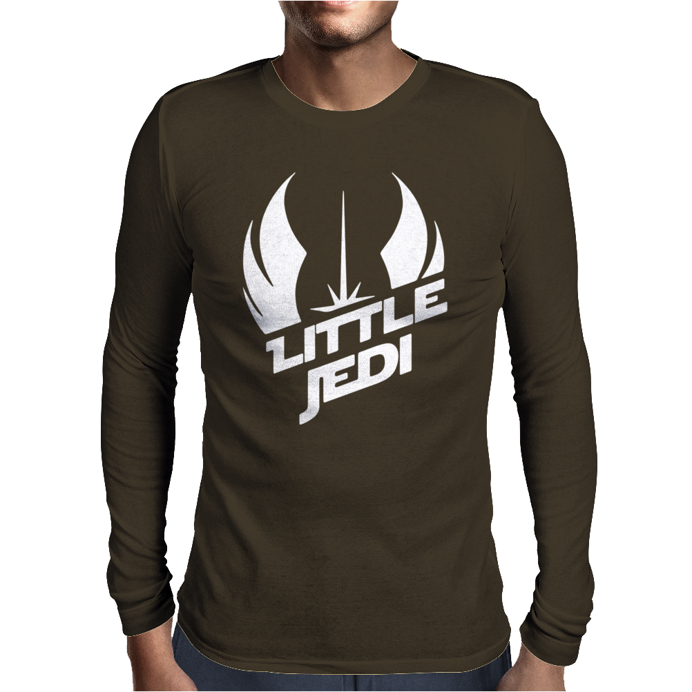 Little Jedi Mens Long Sleeve T-Shirt