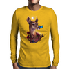 Little Pieces of Time Mens Long Sleeve T-Shirt