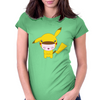 Little Pikachu Womens Fitted T-Shirt