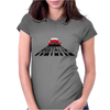 Little Sportsman Red Corvette Womens Fitted T-Shirt