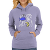 Little whale Womens Hoodie