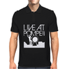 live at Pompeii Mens Polo