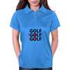 Live Eat Sleep Golf Womens Polo