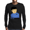 Live Long And Prosper Leonard Nimoy Tribute Mens Long Sleeve T-Shirt