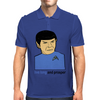 Live Long And Prosper Leonard Nimoy Tribute Mens Polo