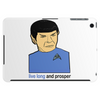 Live Long And Prosper Leonard Nimoy Tribute Tablet (horizontal)
