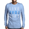 LIVE LOVE LIFT Mens Long Sleeve T-Shirt