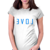 LIVE LOVE LIFT Womens Fitted T-Shirt