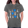 Live Love Rave Edm Music House Electro Womens Polo