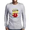 LIVERPOOL MINIONS Movie Despicable Me Football Funny Mens Long Sleeve T-Shirt