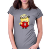 LIVERPOOL MINIONS Movie Despicable Me Football Funny Womens Fitted T-Shirt