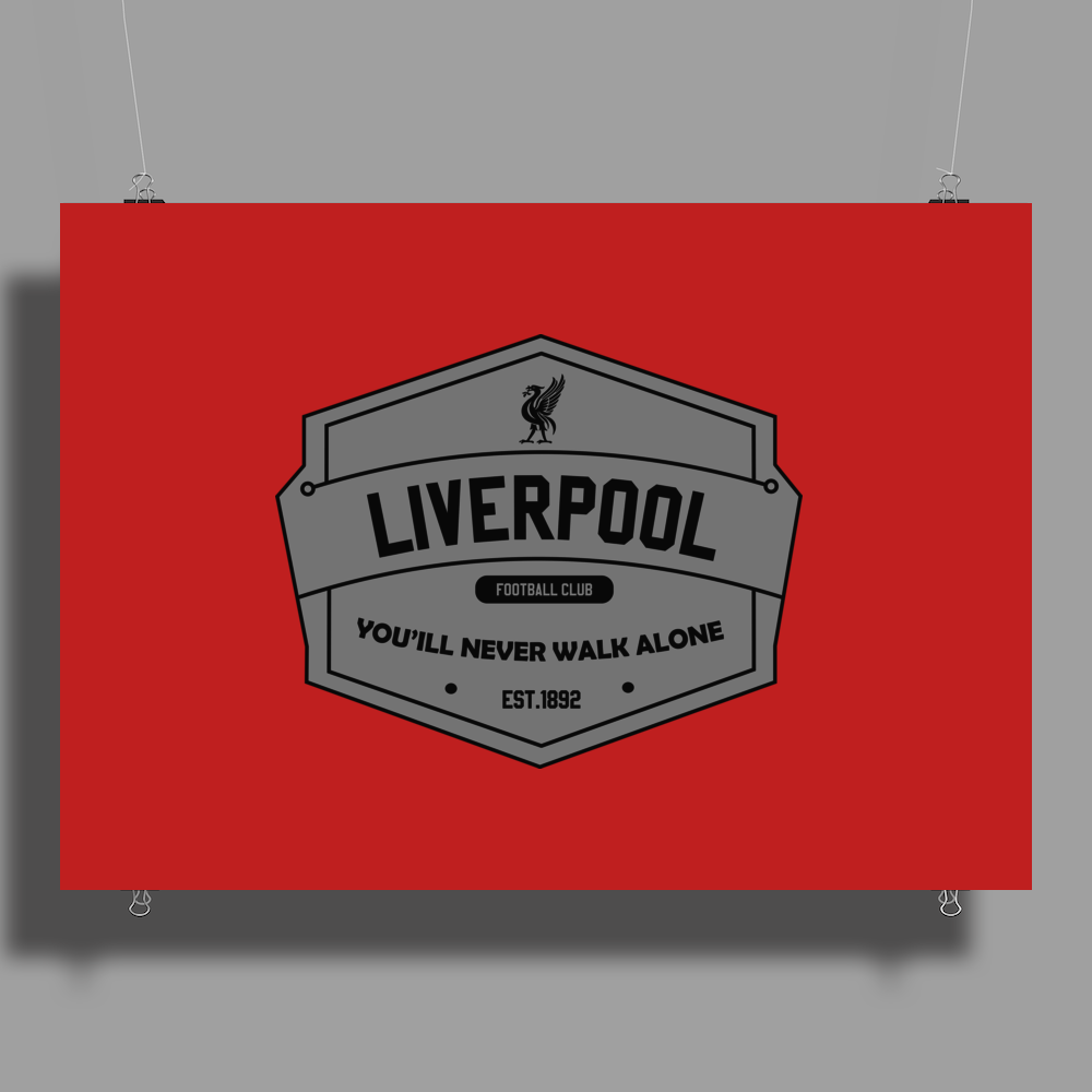 liverpool typo Poster Print (Landscape)