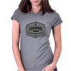 liverpool typo Womens Fitted T-Shirt
