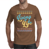 Living Life Aztec Mens T-Shirt