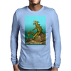Lizard Monster Mens Long Sleeve T-Shirt