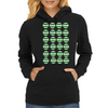 loadsa smiley hoops Womens Hoodie
