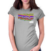 locomotive Womens Fitted T-Shirt