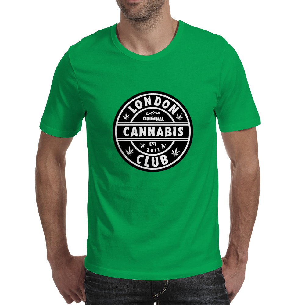 London Cannabis Club Mens T-Shirt