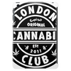 London Cannabis Club T Shirt Tablet (vertical)