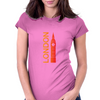 London Time Womens Fitted T-Shirt