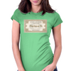 London to Hogwarts, Hogwarts Express Ticket Womens Fitted T-Shirt