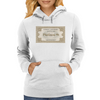 London to Hogwarts, Hogwarts Express Ticket Womens Hoodie