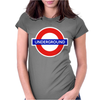London Underground Herren Womens Fitted T-Shirt