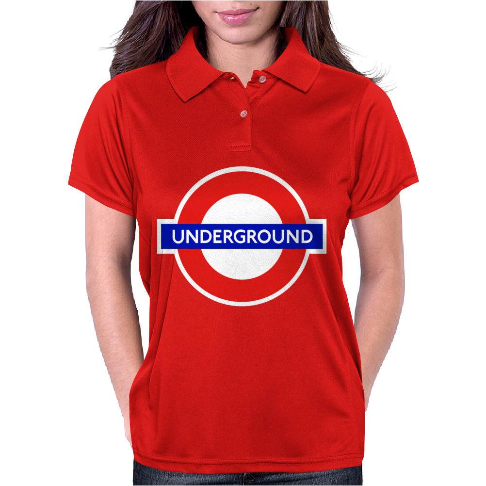 London Underground Herren Womens Polo