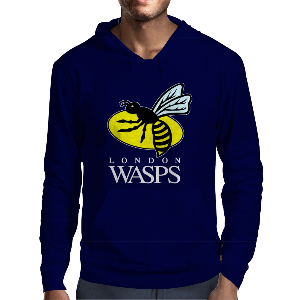 London Wasps Rugby Sports Mens Hoodie