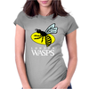 London Wasps Rugby Sports Womens Fitted T-Shirt