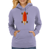 Longboard Hot Summer Ice Cream Womens Hoodie