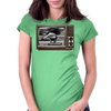 Longboard Legends never Die - Cliff Coleman 1978 on TV Womens Fitted T-Shirt
