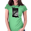 Longboard Legends never Die - Laura Thornhill Womens Fitted T-Shirt