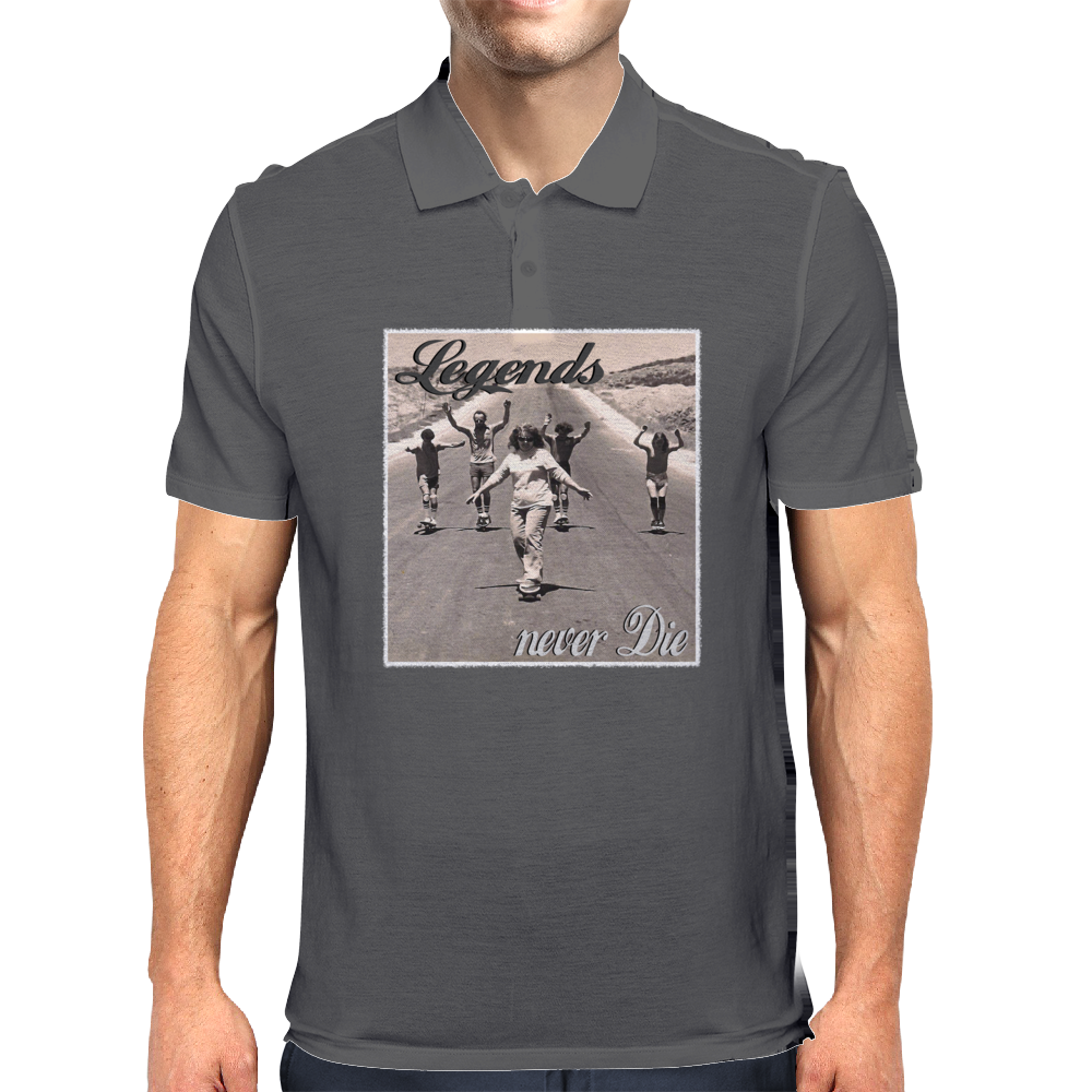 Longboard Legends never Die - The Logan Family Mens Polo
