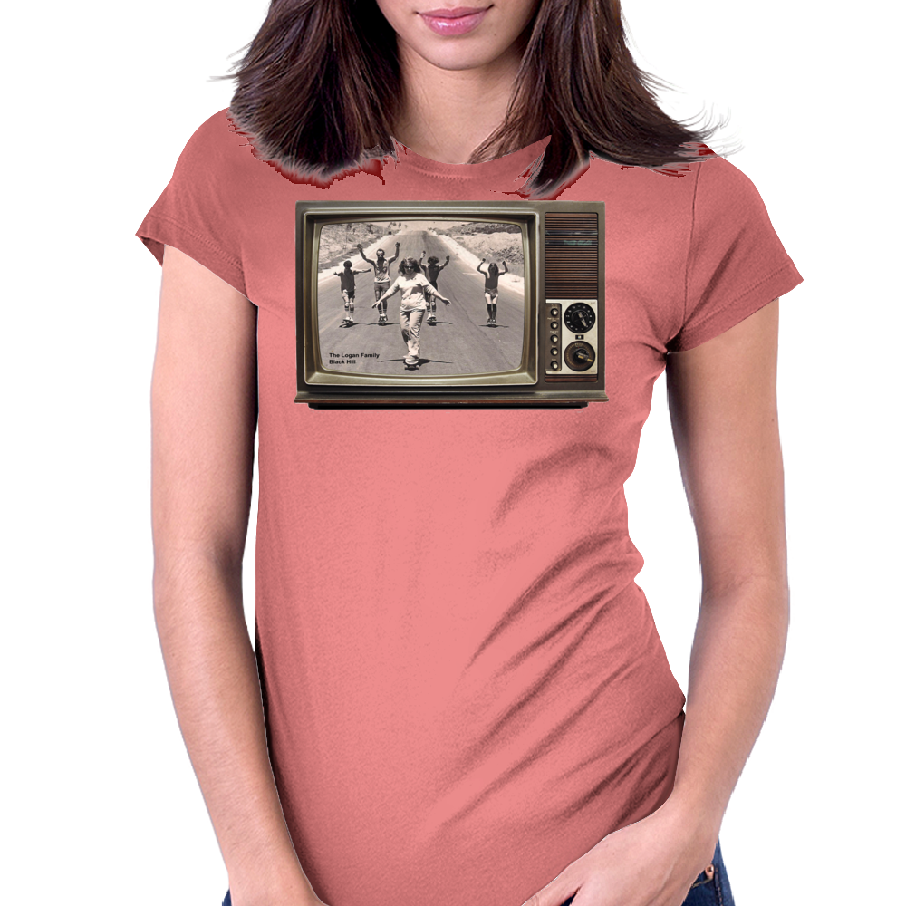 Longboard Legends never Die - The Logan Family on TV Womens Fitted T-Shirt