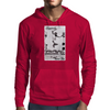 Longboard Skateboard Legends never Die Mens Hoodie