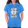 Longboard Skateboard Legends never Die Womens Polo