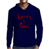 Longboarding is Cool - Red Mens Hoodie